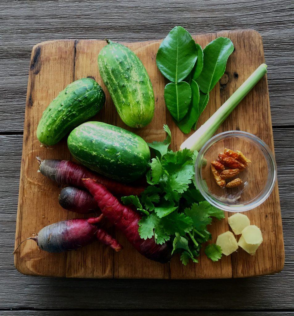 thaipickleingredients